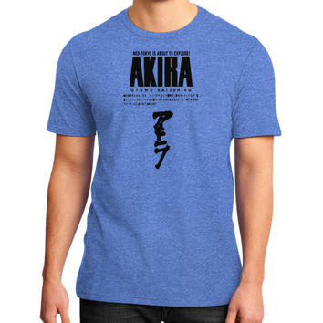 AKIRA OTOMO KATSUHIRO District T-Shirt (on man)