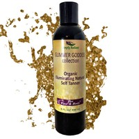 Organic DHA FREE Natural Self Tanner -Creates a Lucious Buildable Golden Tan with Each Application