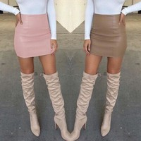 High Waist Pencil Bodycon Mini Skirts