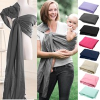 0-2yr Baby  Breathable Wrap Cotton Kid Infant Backpacks Carriers Sling