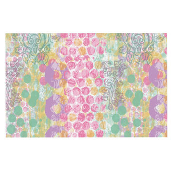 "Chickaprint ""Impression"" Pastel Mix Decorative Door Mat"