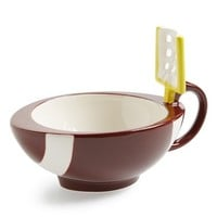 MAX'IS Creations 'mug with a goalpost' Cup - Brown