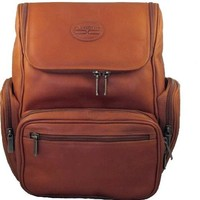 Claire Chase Guardian Vaqueta Leather Laptop Backpack