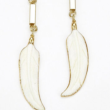 Spirit Feather Earrings