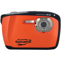 Bell+howell 16.0 Megapixel Wp16 Splash2 Hd Waterproof Digital Camera (orange)
