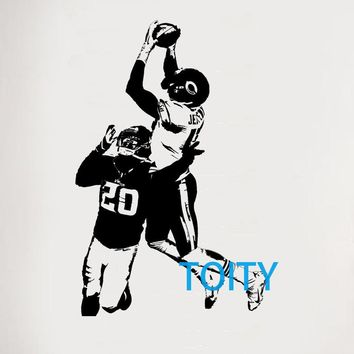 Alshon Je Wall Sticker Chicago Bears Vinyl Decal American football quarterback Sport Poster Boy Room Graphic Mural S M L