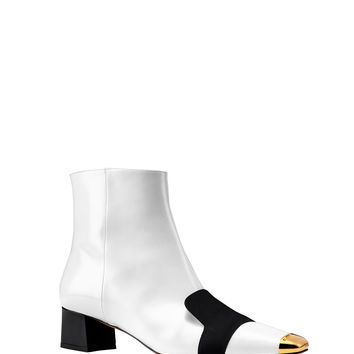 Bally Claire Boot - Bicolor Block Heel Boot