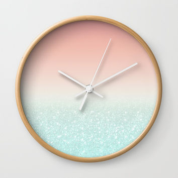 Gradient 01 Wall Clock by printapix