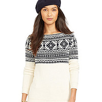 Lauren Ralph Lauren Nordic Sweater - Modern Cream/Beacon Navy