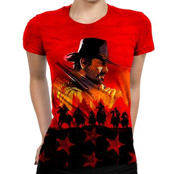 Red Dead Redemption Womens T-Shirt