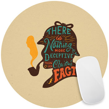 Sherlock Mouse Pad Decal