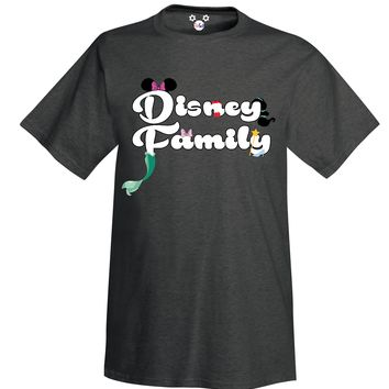 Youth Disney Family Minnie and Friends Character T-Shirt