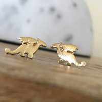 Awesome Little Dragon Earrings