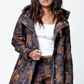 adidas Leaf Camo Parka - Womens Jacket - Multi