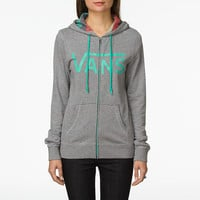 Rasta Path Zip-Up Hoody, Women