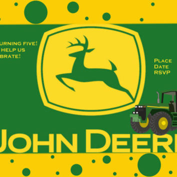 John Deere Invitation