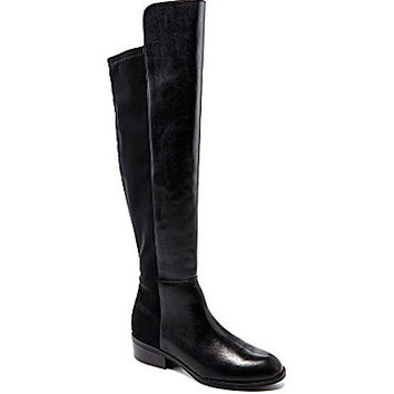 Lauren Ralph Lauren Women's Maiya Stretch Riding Boots - Black