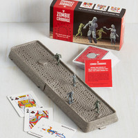 Quirky Zombie Cribbage by Chronicle Books from ModCloth