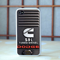 DODGE CUMMINS 6.7 L iPhone 6 6s Plus case, iPhone 5s 5c 4s Cases, Samsung Galaxy Case, iPod case, HTC case, Sony Xperia case, LG case, Nexus case, iPad cases, Case
