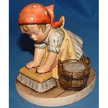 "M I Hummel ""Big Housecleaning"" Figurine"
