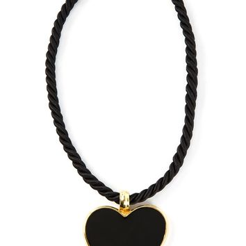 Yves Saint Laurent Vintage heart pendant necklace