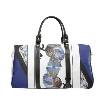 Play Your Hand...Queen Spade No. 2 Small Duffel Bag