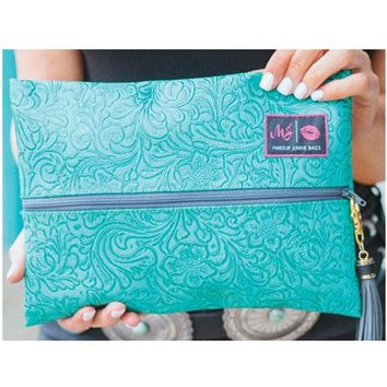 Turquoise Dream Makeup Junkie Bags By Makeup Junkie