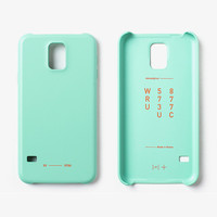 11+ Galaxy S5 Color Case Pale Mint
