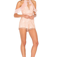 Alice McCall Your Disco Needs You Playsuit in Amber | REVOLVE