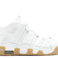 "Air More Uptempo (gs) ""white Gum"" - Nike - 415082 101 - white/white-bmb-gm lght brwn 