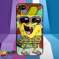 Summer Holiday Spongebob Squarepants iPhone 4 or iPhone 4S Case