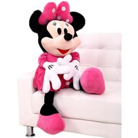 Original 50 cm Minnie Mouse Doll Big Plush Soft Mickey Stuffed Doll Anime Girl Birthday Gift Children Kids Baby Toys