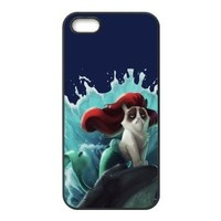 Mystic Zone Grumpy Cat Cover Case for Iphone 5 5S Protective Back Cover Fits Case WSQ1318