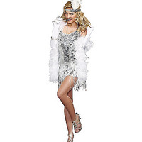 Adult Life's a Party Flapper Costume - Spirithalloween.com