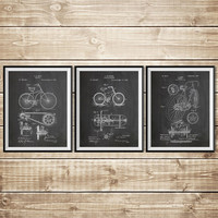 Bicycle Blueprint, Bicycle Wall Art, Bicycle Wall Print, Cycling Wall Decor, Bicycling Wall Art, Cycling Poster, Bicycle, INSTANT DOWNLOAD