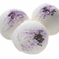 Bubble Bath Truffles by Sassy Bubbles - Lavender Pomegranate Scent