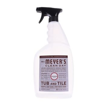 Mrs. Meyer's Clean Day Tub & Tile Cleaner Spray, Lavender, 33 Oz - Walmart.com