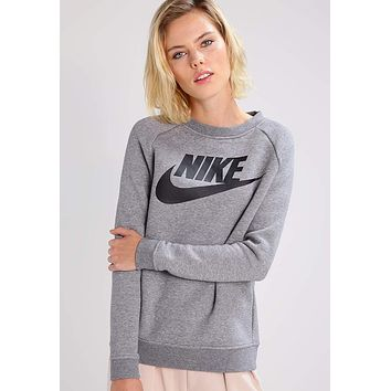 NIKE  Casual Long Sleeve Sport Top Sweater Pullover Sweatshirt