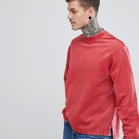 Weekday Score High Neck Sweatshirt at asos.com