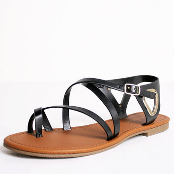 Strappy Triangle Sandal