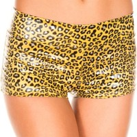 Cheetah Print Booty Shorts