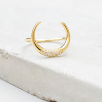 Tusk Ring - Gold