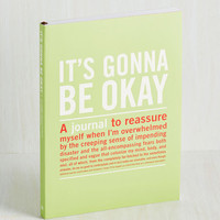Handmade & DIY It's Gonna Be Okay Journal by ModCloth