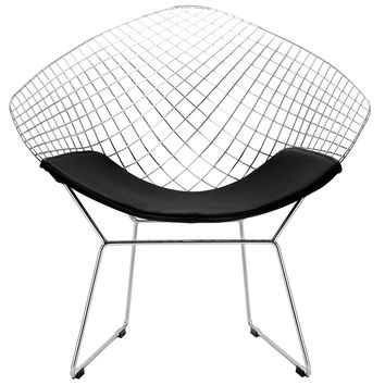 Morph Lounge Chair in Black