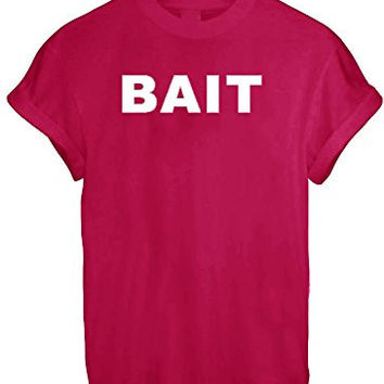 BAIT DOPE OBEY YMCMB CELEBRITY TUMBLR TEE TOP T Shirt Graffiti Art Urban Art - Red