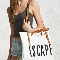 Escape Canvas Travel Tote Bag