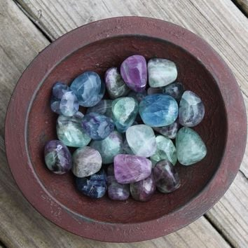 FLUORITE polished crystal - Make Better Choices - Healthy Lifestyle Talisman
