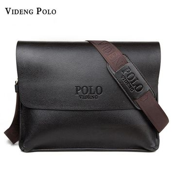 VIDENG POLO Brand Men's Crossbody Messenger Bag