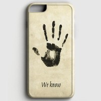 Skyrim Dark Brotherhood We Know iPhone 7 Case