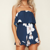 Summertime Sadness Playsuit Navy